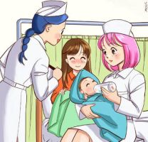 Maternity Ward Babies Pt. 1 by AR-Oasis