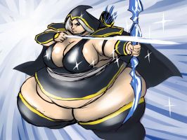 Fat Ashe by jinenji89