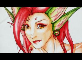Zyra closeup by Snappedragon