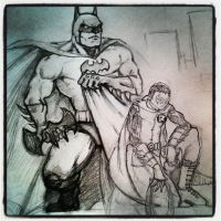Batman and Robin by MisterHydesSon