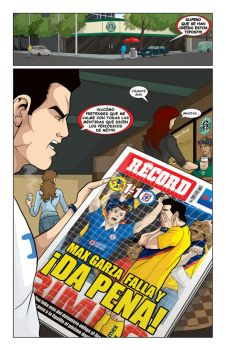 p5 AGUILAS Comic by julesjules