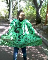 Riddler Cape ? - Riddle Me This, Riddle Me That by Lovepiko