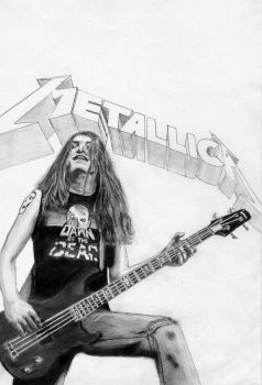 Cliff Burton by For-Absent-Friends