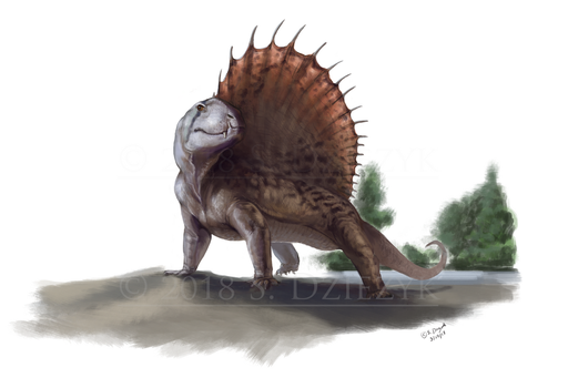 Stalwart Synapsid by LeccathuFurvicael