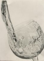 Glass of Water by Maddie-Marie