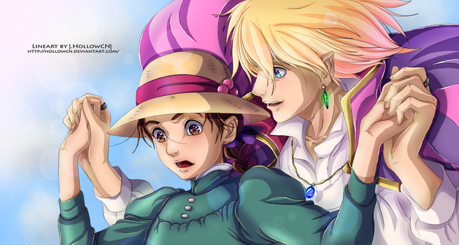 Howl's Moving Castle by AngieMP