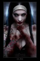 Violet Eyes - Naughty Nun 2 by jamiemahon