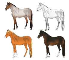 Thoroughbred Adopts | 25 points | 0/4 Open by TheEndlessHourglass