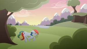[Commission] Rainbow by Emkay-MLP