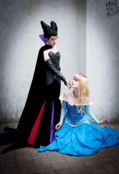 Sleeping Beauty, Ellicott City Photoshoot 2014 by MindFall