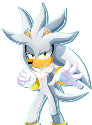 Silver The Hedgehog by iGreshTH