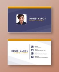 Simple Business Card by Naddar