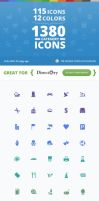 115 Unique Category Icons for Directory WP Theme by ait-themes