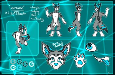 Username - Reference Commission by MarbleMoonCat