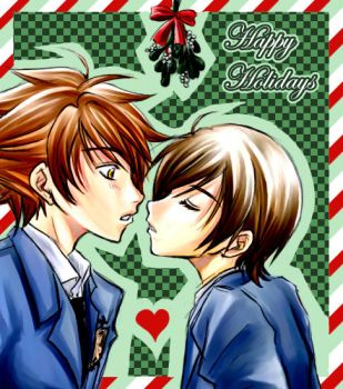 Ouran - Happy Holidays 2006 by kanae