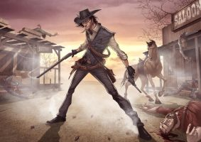 Red Dead Redemption by PatrickBrown