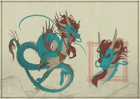 Dragon by CindyWorks