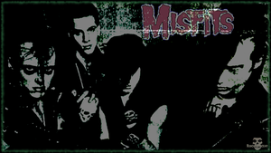 Misfits Wallpaper by RogueVincent