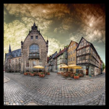 Town Hall and Cafe by matze-end