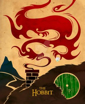 The Hobbit Poster by Norloth