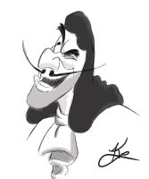 Captain Hook sketch by WulfFather