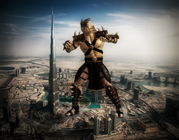Giant Shao Kahn 2 by RPGxplay