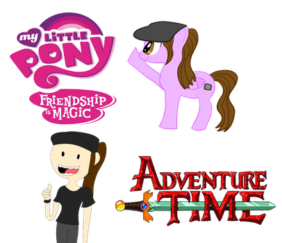 Video: Me gusta My Little Pony y Adventure Time by luxiavideogamer11