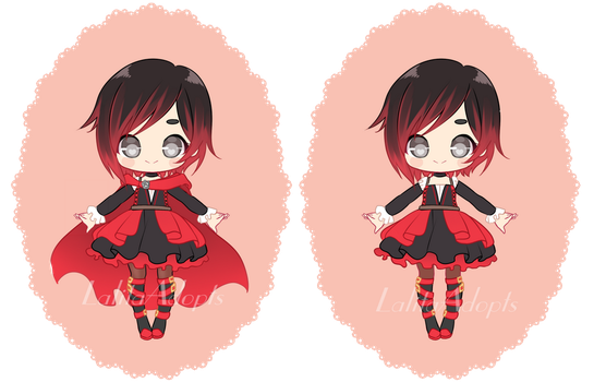 Ruby Rose outfit redesign by LalitaAdopts