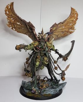 Death Guard - Mortarion by TheWayOfTempest