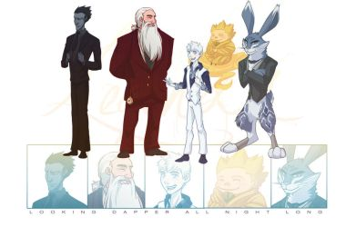 Looking Dapper - RotG by NightLiight