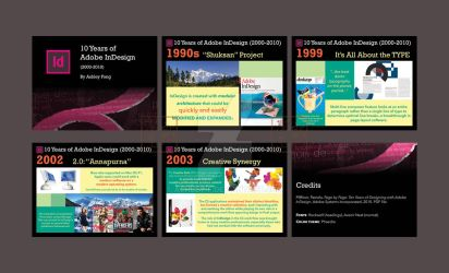 10 Years of Adobe InDesign by ashley-f
