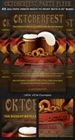 Oktoberfest Event Party Flyer Template by Hotpindesigns