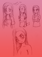 Human Pinkamena Doodles by ClaireAnneCarr