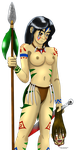MisaKuroi in Amazonian Warrior by dd4rri3nd