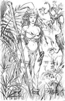 Rogue In Savage Land by edtadeo