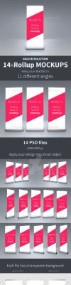 Rollup Mockup PACK by virusowy