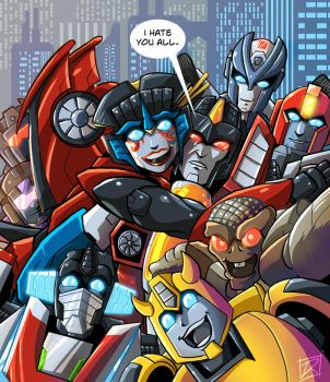 Starscream, the Lonely Leader by MachSabre