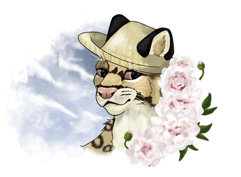 Cirrus With Peonies by BlurryWoods