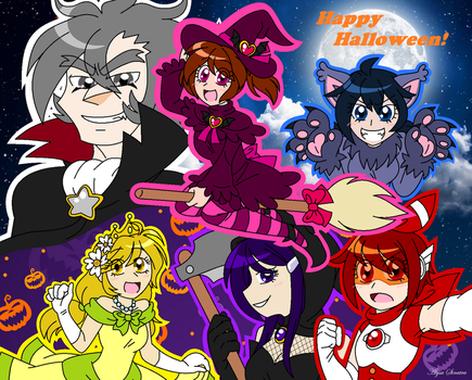 Guardian Angels: Happy Halloween! by sonicgirl1997