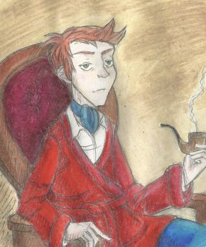 The Serious Philip J. Fry by MolecularClouds