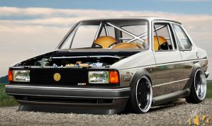 VW Jetta MKI by TKtuning