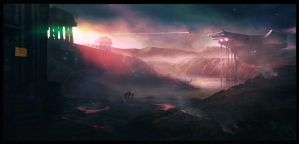 The first colonists by michaeldaviniart