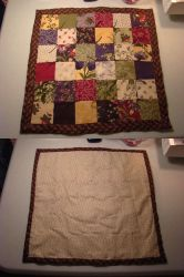 My first completed quilt! by skelly-jelly
