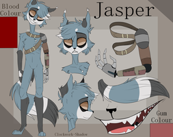 Jasper Character Reference by Clockwork-Shadow
