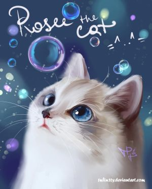 Rosee the cat =^..^= by 1NFIN1TY