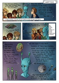The Invasion Ch. 3, Pg. 1 by CamishCD