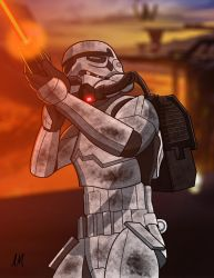 Sullest Stormtroper by DarkSunProductions