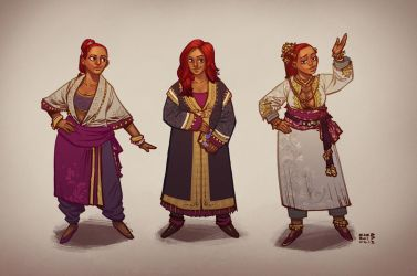 Nevhna - Costume Concepts by zazB
