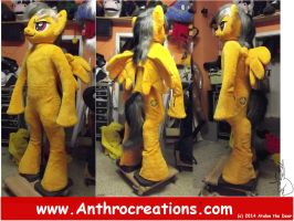 MLP Daring Do Fursuit Cosplay by AtalontheDeer