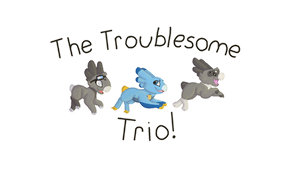 Athena - Wyngro - The Troublesome Trio by Auroraangle